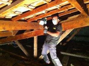 Traitement des bois de charpente a Breil-sur-Roya