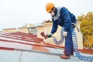 Peinture sur toit Puget-Ville