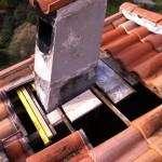 Réparation de pied de cheminée